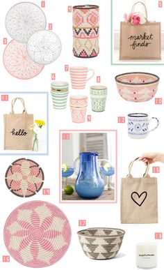 At Bonjour Chiara HQ we love to refresh the house for Spring and our best founds come from The Little Market, a non profit e-shop founded by Lauren Conrad and Hanna Skvarl. Amazing Shopping, Marketing, Bonjour
