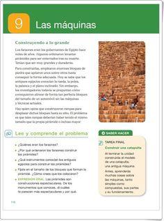 """Unidad 9 de Ciencias de la Naturaleza de 4º de Primaria: """"Las máquinas"""""""