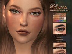 Alf-si | Eyebrows 22 HQ & non HQ child + ; humans; 24...