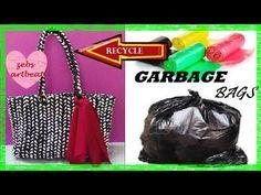 DIY  The Basket Bag  Recycle Plastic Bags - YouTube