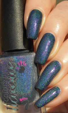Green, Glaze & Glasses: Colors by Llarowe - The Way You Make Me Feel (Blue was-auch-immer)