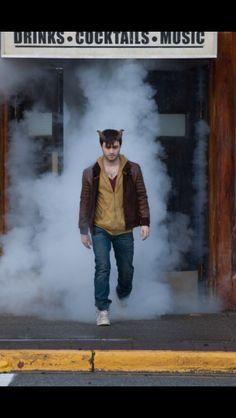 """Daniel Radcliffe as Ignatius """"Ig"""" Perrish in Horns Daniel Radcliffe Horns, Daniel Radcliffe Harry Potter, Film 2014, Movies 2014, Horns 2013, Horns Movie, I Love Cinema, Epic Movie, Movie Scene"""