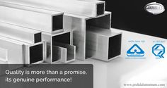 Quality isMore Than A Promise, Its Genuine Performance! JAL has been synonymous with quality ever since inception. We have cemented our place in the aluminium extrusion industry with our quality and continued excellence. http://www.jindalaluminium.com/jindal-quality-policy.php  #Jindal | #JAL | #QualityDelivered | #Aluminium