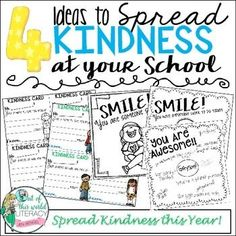 Help spread kindness at your school with this FREE resource!