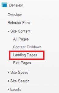 Landing Page Optimization Using Google Analytics