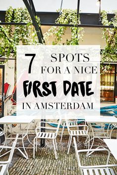 """Having a first date? So exciting. These spots listed on http://www.yourlittleblackbook.me are a perfect place for a first date in Amsterdam! Planning a trip to Amsterdam? Check http://www.yourlittleblackbook.me & download """"The Amsterdam City Guide app"""" for Android & iOs with over 550 hotspots: https://itunes.apple.com/us/app/amsterdam-cityguide-yourlbb/id1066913884?mt=8 or https://play.google.com/store/apps/details?id=com.app.r3914JB"""