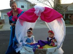 how to make a cinderella carriage out of cardboard - Google Search