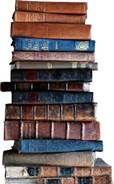stacks of books -