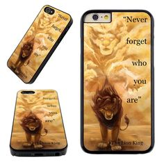 Never Forget Who You Are Lion King Case Cover for Iphone 6s 6 6 Plus 5s 5 5c 4s  | Cell Phones & Accessories, Cell Phone Accessories, Cases, Covers & Skins | eBay!