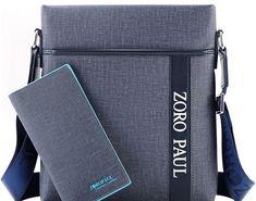 Big SALE ZORO PAUL Business Messenger Bag Men PU Leather Casual Man Bag Male  Waterproof Shoulder 24b033138b1a7