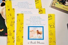 Aesthetic Nest: Invites: Golden Books Baby Shower Invitation