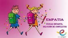 Empatía: Fichas infantil Solución de conflictos