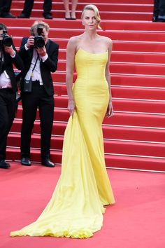 Charlize Theron in Dior Couture - Mad Max: Fury Road premiere, Cannes 2015