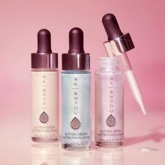 Cover FX Launches Glitter Drops And Shimmer Veil Body Makeup, Kiss Makeup, Beauty Makeup, Eye Makeup, Makeup Stuff, Makeup Products, Makeup Ideas, Beauty Tips, Beauty Products