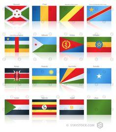 Popular Flat Flag East Africa