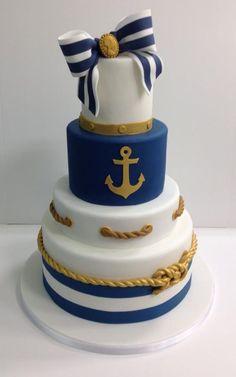 Nautical Cake: