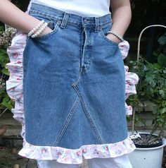 Recycled Levi's pinny | Flickr - Photo Sharing!