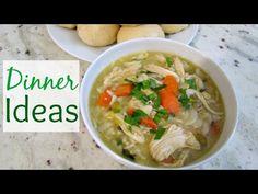 YouTube- 6 Dinner Ideas