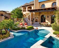 Luxury Home Magazine Arizona #Luxury #Homes #Backyards #Pools #Silverleaf