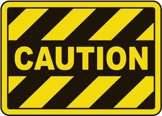 Caution Sign - Fast shipping, direct from the USA manufacturer. Order your Caution Sign today.