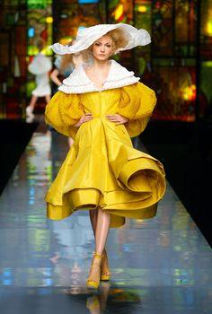 Maison Dior collection Haute couture printemps -été 2009 - luxe écrit par Corinne