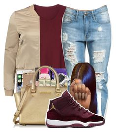 """""""Untitled #37"""" by aaliyah-marie1 ❤ liked on Polyvore featuring Monki"""