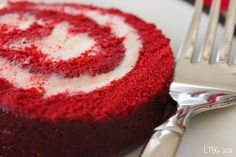 Red Velvet Cake Roll... another genius idea to add to the #redvelvet collection