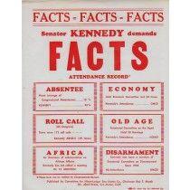 Anti John F kennedy campaign flyer pro nixon