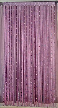 Beaded Curtain / Room Divider, Wall Art on Etsy, $119.95