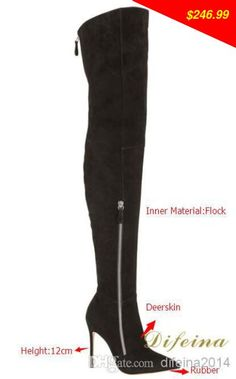 This is nice, check it out! Outdoor Boots Black Women Shoes Genuine Leather Over The Knee Boots Pointed Toes Ladies Pumps Winter Zipper Boots Work Boots - US $246.99 http://tvshopping2.org/products/outdoor-boots-black-women-shoes-genuine-leather-over-the-knee-boots-pointed-toes-ladies-pumps-winter-zipper-boots-work-boots/
