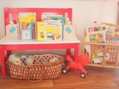 Playroom vintage Red