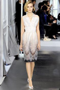 Christian Dior Spring 2012 Couture Fashion Show - Josephine Skriver (IMG)