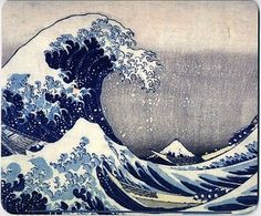 The Great Wave, by Katsushika Hokusai