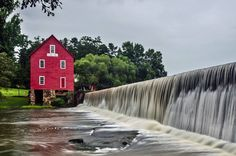 Starr's Mill Fall - Franklin County Georgia Solitary Traveler Photography