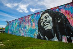 Bob Marley spotted in Wynwood, Miami... and he's a good fit.