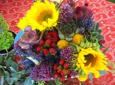 Detail brides bouquet 9-1