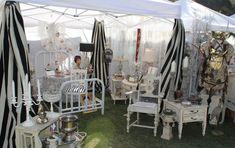 flea market booth decorating ideas | Our Booth at the December Vintage Marketplace in Rainbow, Ca