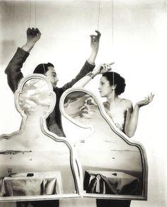 Salvador Dali and Gala Dali by Cecil Beaton