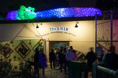 We kept the LAIR (Living Amphibians, Invertebrates, and Reptiles) open for visitors to explore during Zoo Lights.