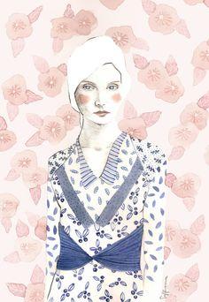 Klara Art Print
