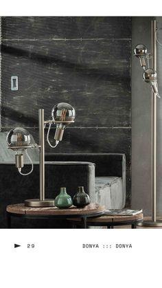 Kugel Innenleuchte zum Aufstellen Ø30 cm Tischlampe aus weißem Glas /& Metall