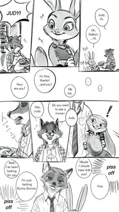 LOVE NICK&JUDY-!!!!!!! They are adorable as a couple. I absolutely loved them in the movie. It was much better than expected