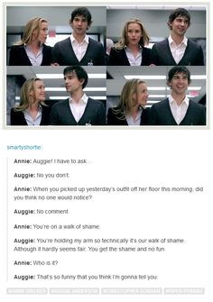 Annie: Auggie, I have to ask... Auggie: No you don't. Covert Affairs - 1x06 - Houses of the Holy