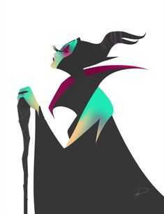 Disney Villain - model Maleficient on Behance Walt Disney Company, Character Drawing, Disney Fan Art, Disney Love, Villain, Disney Sleeping Beauty, Fairy Tales, Disney And Dreamworks, Disney Villains