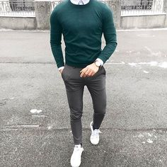 Today's outfit with ・・・ 👍🏻 or 👎🏻? Tag someone ✔️ ➖➖➖➖➖➖➖ My personal: Pages: . Mode Outfits, Urban Outfits, Mens Fashion Suits, Men's Fashion, Costume Gris, Formal Men Outfit, Herren Outfit, Business Casual Outfits, Mens Clothing Styles
