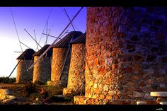 Stone windmills in #Coimbra #Portugal