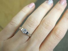 Traditional 14KT White Gold 0.50ct VS2/I Round by OaksBoutique, $1459.00
