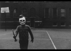 He's taken out all the kids on the playground... Halloween 2011: The Creepiest Vintage Costumes Ever! Huffington Post