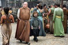 'Game of Thrones' Season 6 First Look | Conleth Hill as Varys and Peter Dinklage as Tyrion Lannister | EW.com