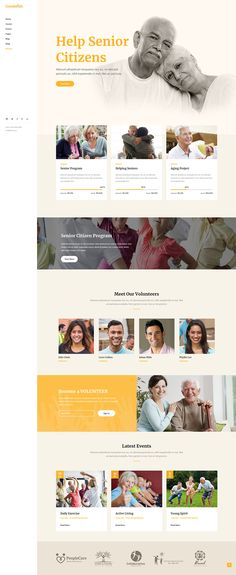 No matter what kind of charity or nonprofit organization you run, Goodwish WordPress theme has what you need for easy website creation. Simple Web Design, Web Design Tips, Web Design Tutorials, Web Design Company, Web Design Inspiration, Design Websites, Design Ideas, Layout Design, Web Layout